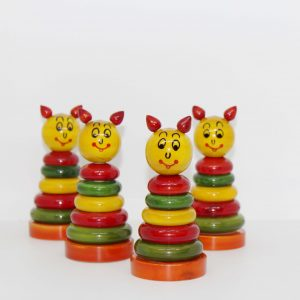 Channapatna stacking toy